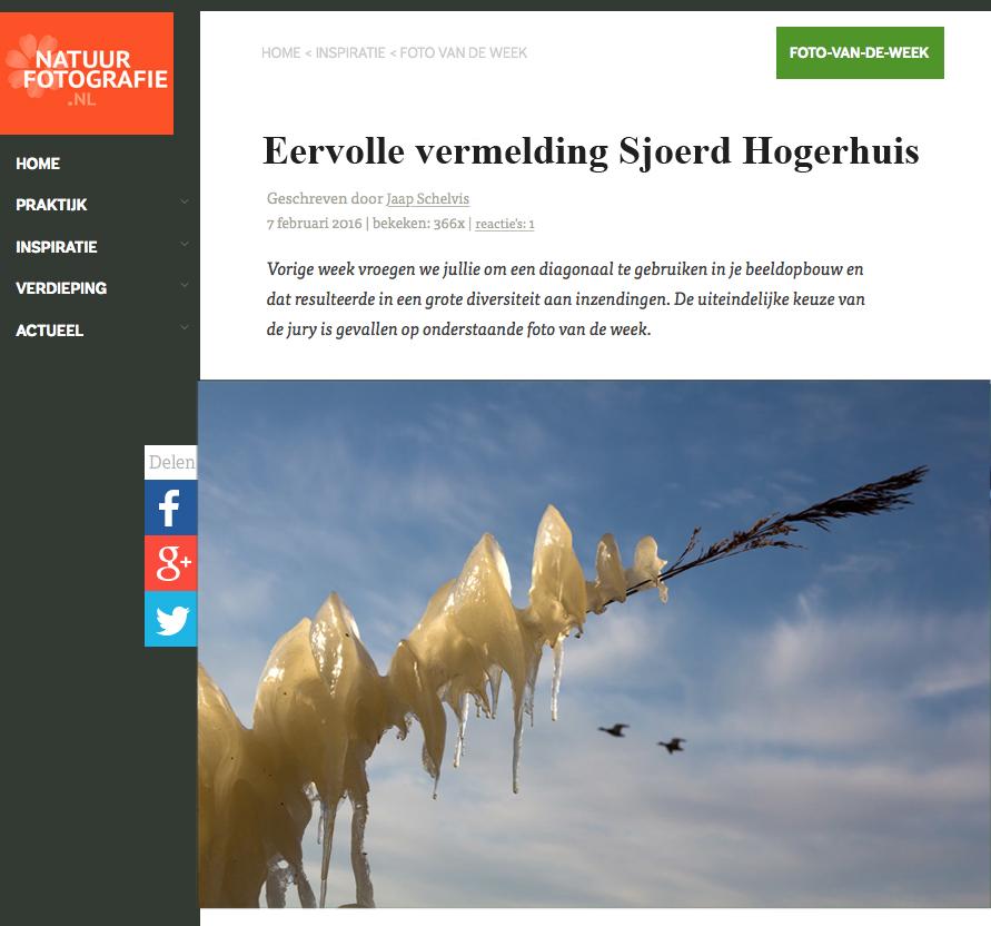 Eervolle vermelding 07-02-2015
